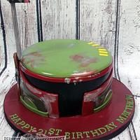 Matthew - Boba Fett Birthday Cake