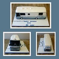 American Motorhome Cake