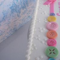 Buttons and a bow by Corrie