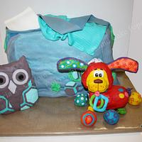 Diaper Bag and Toys
