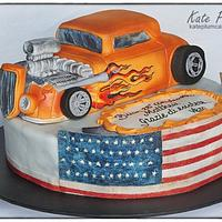 Hotrod cake
