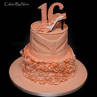 Ruffle and Shimmer by Cakes by Nina Camberley