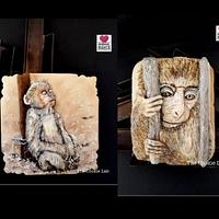 Animal Rights Collaboration - Monkey