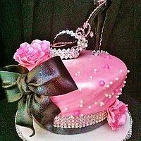 Sexy stiletto cake