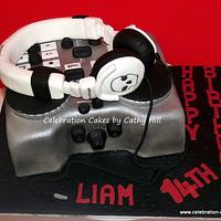 Teenage DJ by Celebration Cakes by Cathy Hill