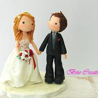 topper dolls wedding romantic