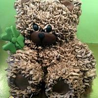 3D Bear cake by Isis Patiss'Cake