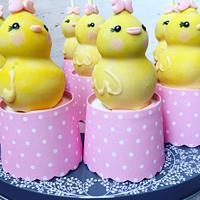 Duck cakepops