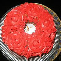 "Rose ""Trial"" Cake"