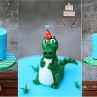 crocodile cake :)