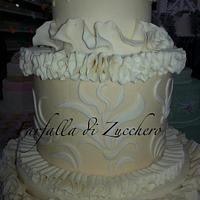 ivory cake by Rosalba