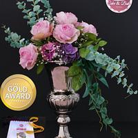 Gold medal winning arrangement