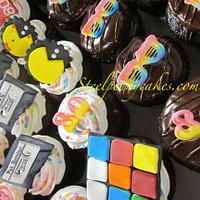 80's cupcakes by Steel Penny Cakes, Elysia Smith
