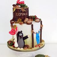 Little mole cake