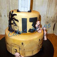 13th Birthday Voodoo Cake