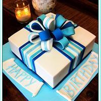 Simple Square cake