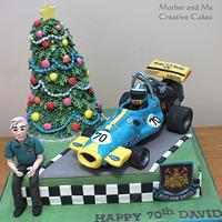 'Racin' around the Christmas Tree....' la la la