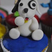 Doki & Friends cupcakes by Hellen
