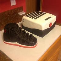 jordans shoe cake!!! by luz m sida