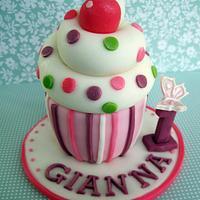 Cupcake Cake Topper