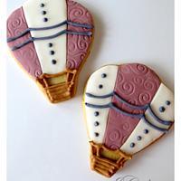 mongolfiera cookies