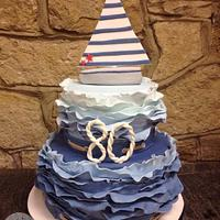Nautical cake for my Pappy x