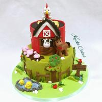 Farm cake Birthday