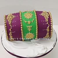 Traditional Dholki Cake