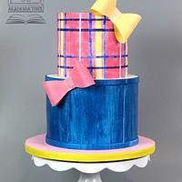 JoJo Siwa doll inspired cake