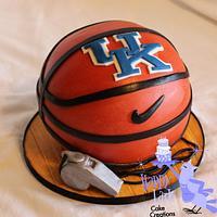 University of Kentucky basketball cake