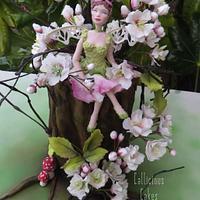 Cherry Blossom Fairy by Calli Creations