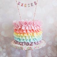 Sophie's Rainbow Ruffles