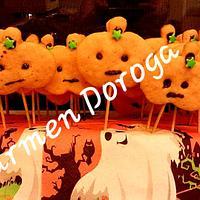 Pumpkin cookies Halloween