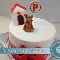 little puppy cake