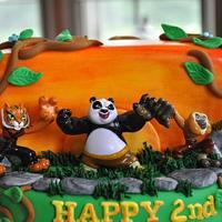 Kung Fu Panda by Mary