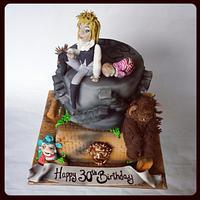 labyrinth  the movie cake