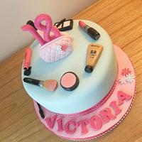 Make up 18th birthday cake