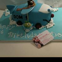 Fly away cake