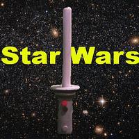 DIY Star Wars LED Lightsaber Cake Topper NO Wiring