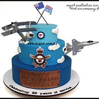Royal Australian Air Force's 92nd Anniversary Cake