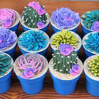 Succulent Cupcakes - Went Viral
