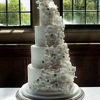Horse inspired Wedding Cake