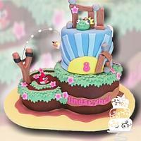Angry Birds 8th Birthday Girl