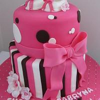 Bb shower for a girl by Julie perron