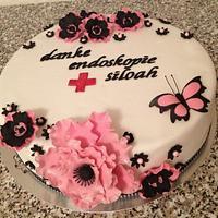 Thank you cake by Maxine Kristi Morris