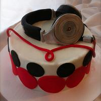 Beats by Dr. Dre Birthday Cake