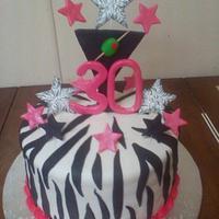 30th B-Day cake