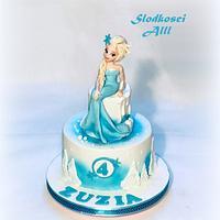 Frozen-Elsa- Cake