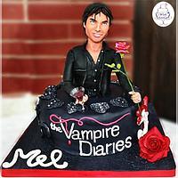 The Vampire Diaries Cake - Damon
