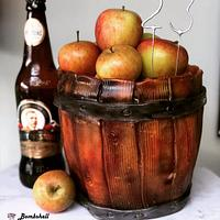 Apple Strudel Barrel Cake